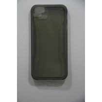 COQUE TRANSPARENTE NOIR IPHONE 5/5S