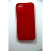 COQUE TREFILE ROUGE IPHONE 5/5S