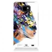 Coque Galaxy S 2 i9100 white diamonds nafrotiti