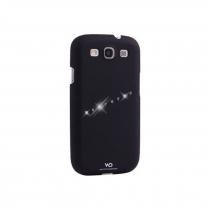 Coque Galaxy S3 i9300 white diamonds sash noire
