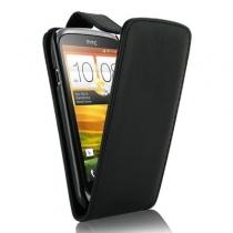 ETUI A RABAT NOIR HTC DESIRE 510