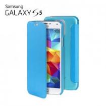 Etui bleu Galaxy S5