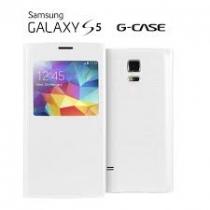 Etui blanc Galaxy S5