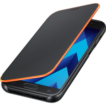 ETUI NEON FLIP COVER OR GALAXY A3 2017