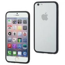 COQUE BLANC/NOIR APPLE IPHONE 6