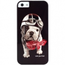 COQUE THEO JASMIN RACING NOIR IPHONE 5