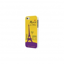 "COQUE "" PARIS JE T'AIME "" M.BINZ APPLE IPHONE 5/5S"