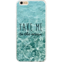 COQUE BLEUE TAKE ME TO THE OCEAN IPHONE 6/6S