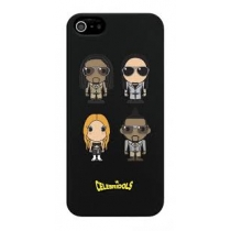 COQUE NOIR CELEBRIDOLS IPHONE 5/5S