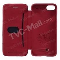 ETUI porte-carte rouge IPHONE 7