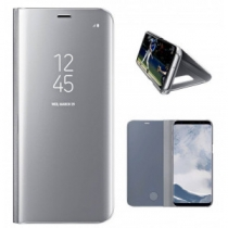 ETUI GRIS CLEAR VIEW COVER SAMSUNG POUR GALAXY S8