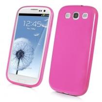 Coque Minigel Rose Muvit Samsung Galaxy S3
