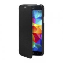 Etui Folio Cover Moxie Noir Samsung Galaxy S5