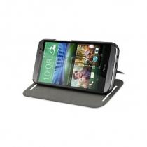 Etui folio noir HTC One M8