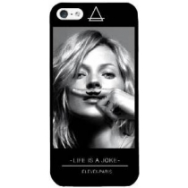 Coque Kate Moss pour iPhone 5 + 2 films protection